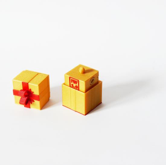 Robot w pudełku 3D