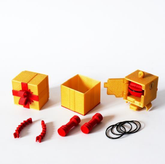 części robota 3D